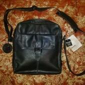 Унисекс мужская женская кожаная сумка из кожи буйвола бренда Picard