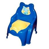Горшок детский №2 синий, арт. 013317-1