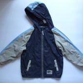 110-116р Куртка на флисе демисезонная прорезиненная TCM