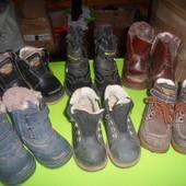 зимние ботинки по стельке 14-15.5 см