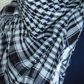 Фирменная стильная арафатка платок Марокко.л-хл .