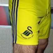 Спортивние оригинал футбольние шорти труси Adidas  ф.к Свонси .м-л .