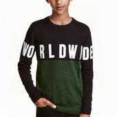 Вязаный свитер, H&M, 134/140 кофта