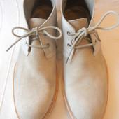 Мужские кожаные ботинки Allsaints p.43 дл.ст 29,7 см