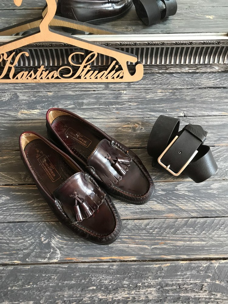 Туфли лоферы с кисточками M&S р-р 39-40 фото №1