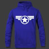 Толстовка Капитан Америка с.м.л (2з