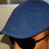 Стильная фирменная кепка хулиганка картуз London Fog 57-58