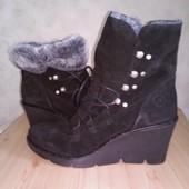 Зимние натуральные ботинки сапоги Bronx 41р.