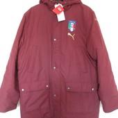 Куртка парка тренера  xl-xxl Puma Italia Originals оригинал Европа