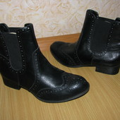 Your Feet Feel Gorgeous новие ботинки челси броги оксфорды 38 р по ст 25 см екокожа