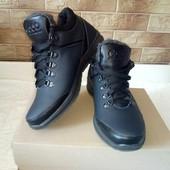 Кожаные зимние ботинки Экко