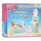 Набор мебели Ванная комната от Gloria куклам барби
