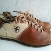 Кожано-текстильные туфли Dr.Martens. 44 р. Британия