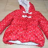 George 2-3 года зимняя курточка, синтепон
