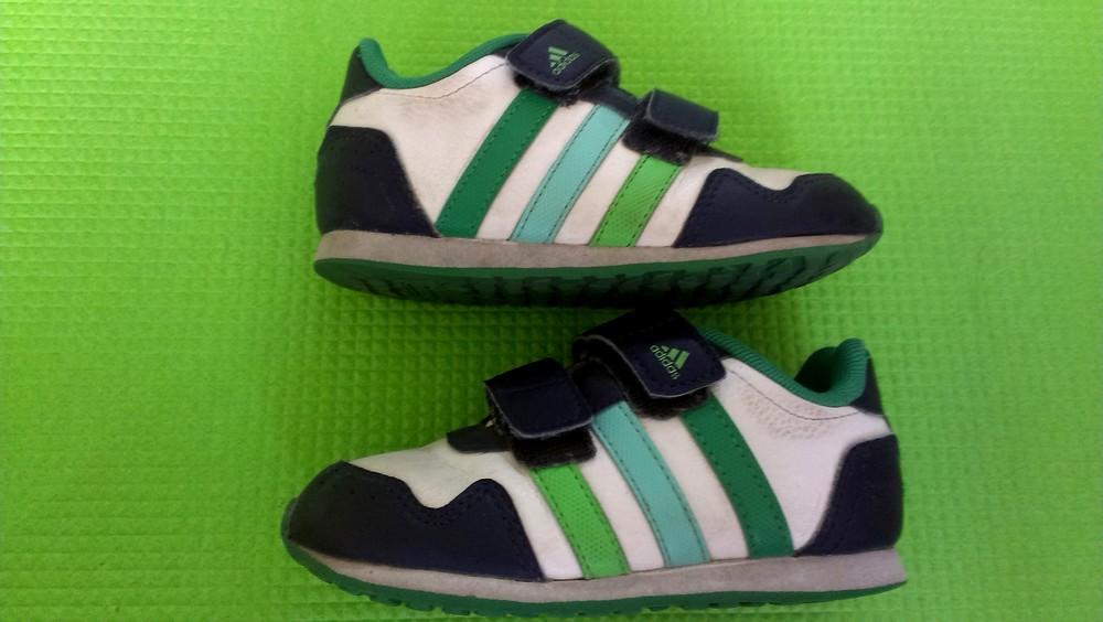 Кроссовки adidas 15 см стелька фото №1