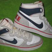 Кроссовки Nike,р.43-44 стелька 29см Кожа