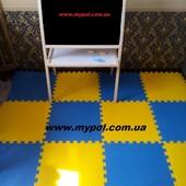 Коврик-пазл, развивающий коврик 2*1,5 м толщ. 10 мм