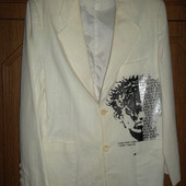 Пиджак с рисунком