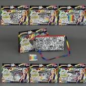 Пенал Раскраска My color clutch Раскраска фломастерами Данко тойс ccl-02-01/06