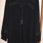Стильная блузка , рубашка с кружевом oasis