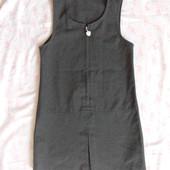 сарафан 3-4г, 104 см, M&S, серый, сост хор