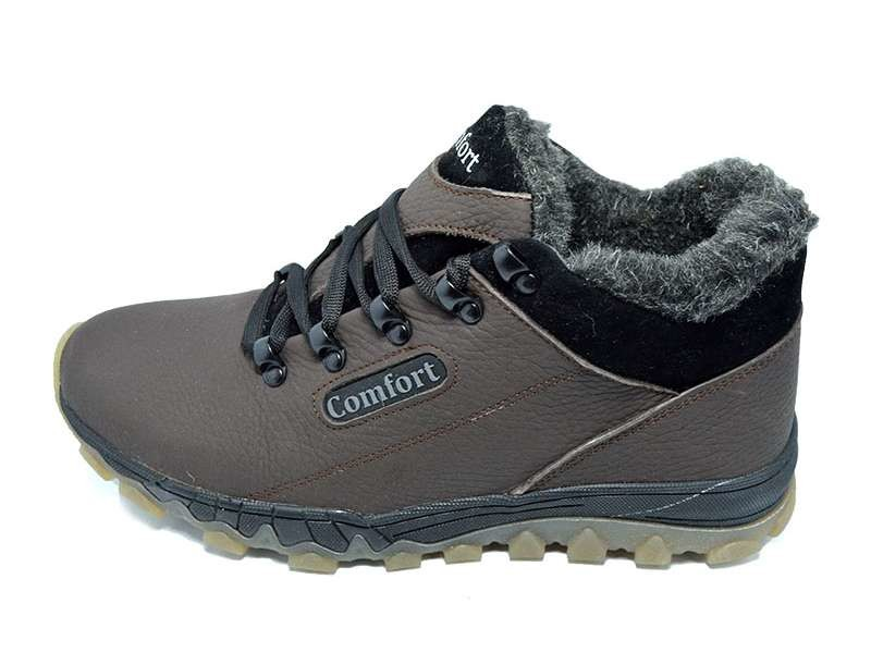 Кроссовки мужские зимние на меху Comfort Stael 92 фото №1