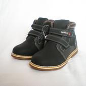 Качественные демисезонные ботинки для мальчика