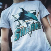 Футболка San Jose Sharks, Grey