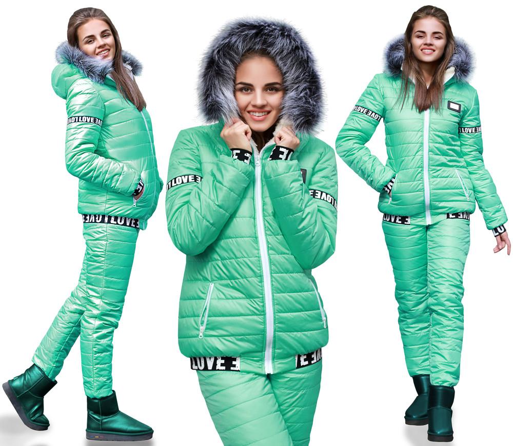 Зимние костюмы женские в картинках