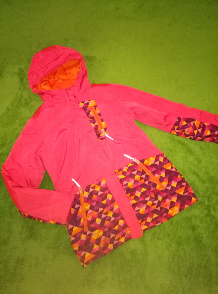 Яркая куртка на 12-13лет фото №1