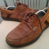 Timberland, 43 p. Кожаные удобные туфли