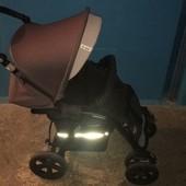 Прогулочная коляска Jane Nomad, капюшон, бампер,корзина,шасси,сиденье