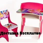 Детская парта со стульчиком Винкс (Winx )