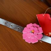 Детский ремень с пряжкой-цветком JBC Германия