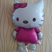 Надувной котёнок Kitty 80x55 см, новый