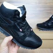 Зимние кроссовки Reebok black