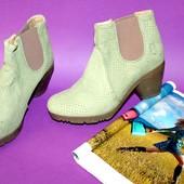 Новые ботинки/ботиночки нубук 37 р