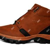 41 и 42 р Мужские - подростковые ботинки зимние маломерки (101тб)