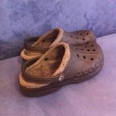 Мужские Crocs черные (стелька 26 см)