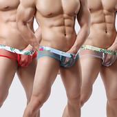 Мужские трусы сеточкой Эротическое сексуальное белье   Еротична сексуальна білизна