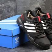 Зимние мужские кроссовки Adidas Terrex black/white