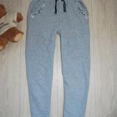 Теплые модные штаны 9-10 лет