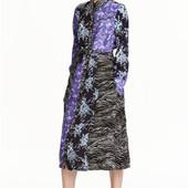 Платье рубашка с поясом, H&M, M