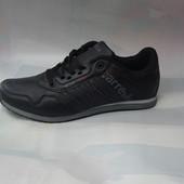 Мужские кроссовки копия adidas 41-46р черные