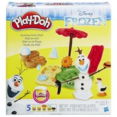 Play-Doh Приключения Олафа плей дох frozen