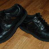 Кожаные туфли ботинки Кangol 42 р хорошее состояние