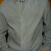Стильная фирменная вильветовая курточка деми .бренд  Blue Harbour л-хл
