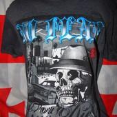 Брендовая стильная футболка No Fea м-л .