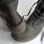 Ботинки зима  Rieker оригинал-размер 41-длина стельки-27 см