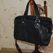 House of janic carlo сумка кожаная большая. Оригинал